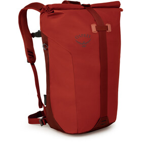 Osprey Transporter Roll Sac à dos, ruffian red